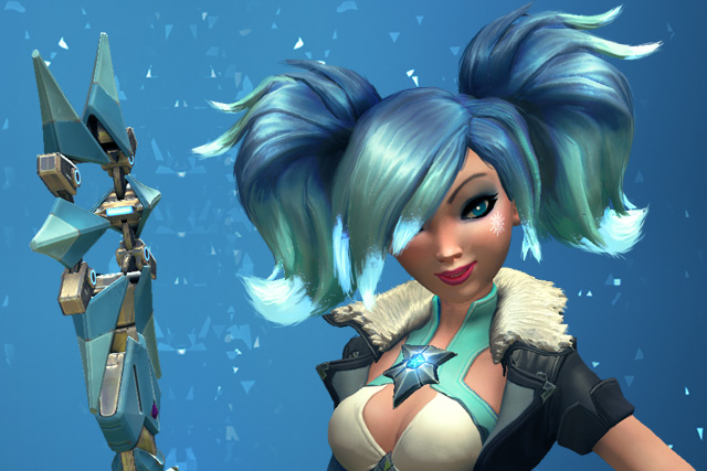 Paladins Evie + Black Ice Skin Key