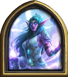 Hearthstone Tyrande Hero + Card Back Region Free