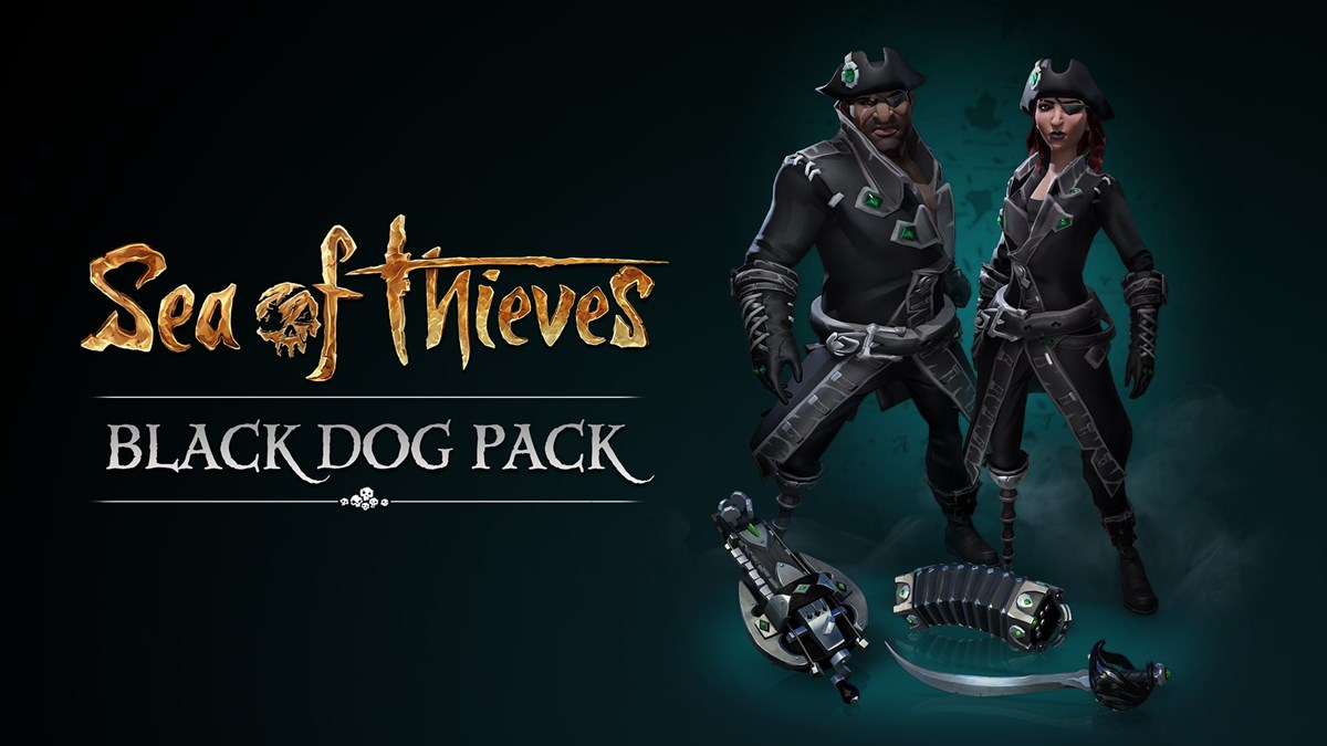 Sea of Thieves Black Dog Pack Key WINDOWS 10/XBOX ONE