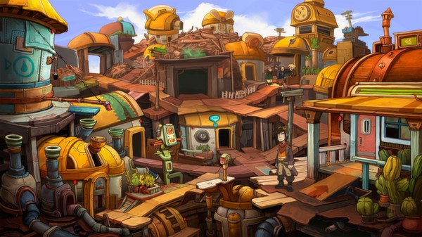 Deponia  (Steam Gift / RU + CIS)