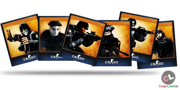 A set of cards Counter-Strike: Global Offensive [CS: GO