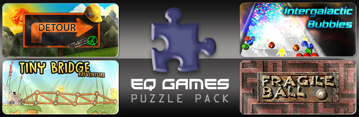EQ Games Puzzle Pack (4in1)[SteamGift/RU+CIS]