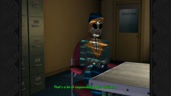 Grim Fandango Remastered. Steam gift. RU/CIS