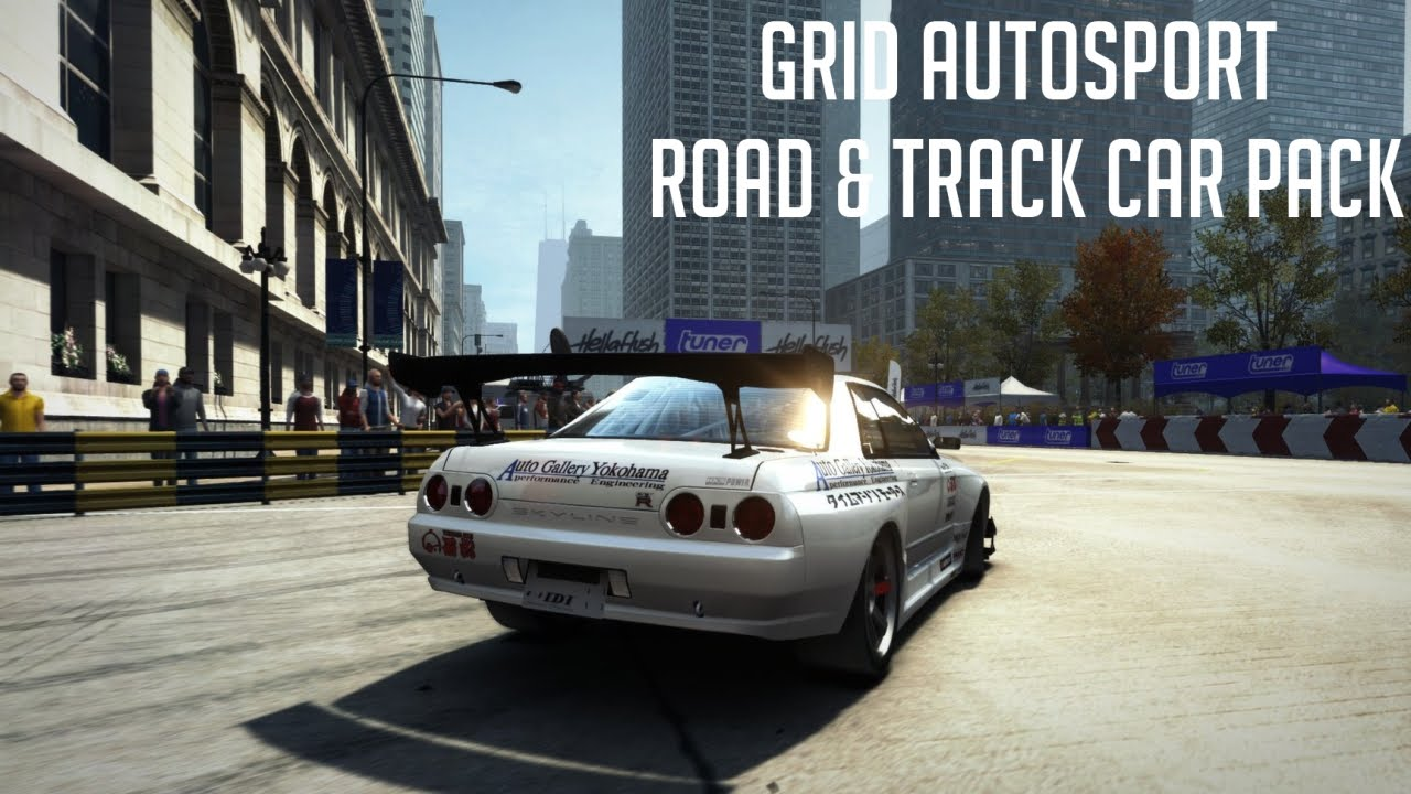 GRID Autosport - Road & Track Car Pack. CD-KEY RU/CIS