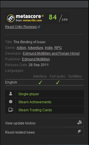 The Binding of Isaac Collection. Steam gift. RoW.