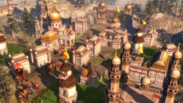 Age of Empires III: Complete. Steam gift. RoW.