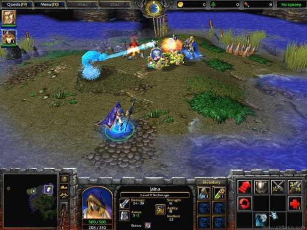 Warcraft III: Reign of Chaos. CD-Key