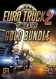 Euro Truck Simulator 2 - Gold Bundle (Steam Gift / ROW)