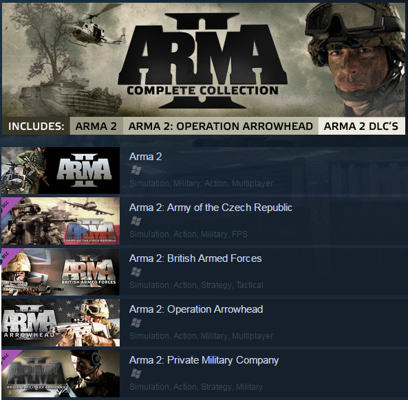 how to get arma 2 free on steam