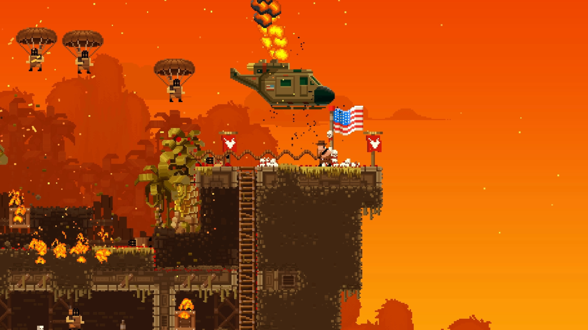 Broforce (Steam KEY / Region free / ROW / Global)