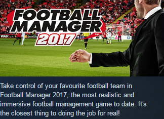 Football Manager 2017 (Steam KEY / Region free /Global)