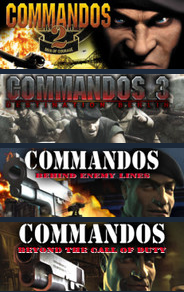 Commandos Collection Pack (Steam KEY /ROW /Region free)