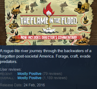 The Flame in the Flood (Steam KEY / ROW / Region free)