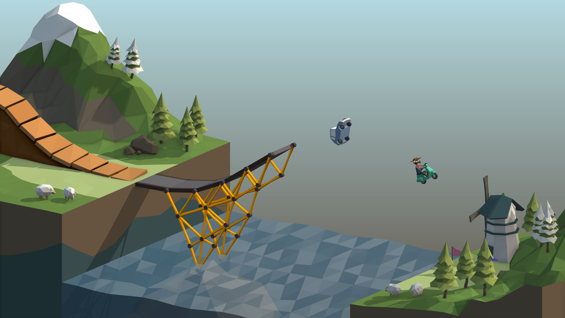 Poly Bridge (Steam KEY / Region free / ROW / Global)