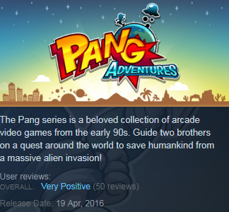 Pang Adventures (Steam KEY / ROW / Region free)