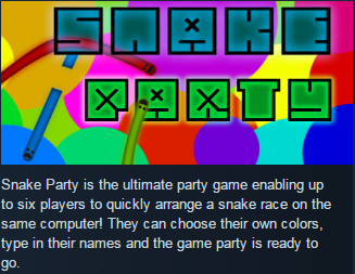 Snake Party (Steam KEY / ROW / Region free / Global)
