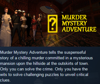 Murder Mystery Adventure(Steam KEY / Region free / ROW)