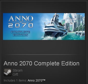 Anno 2070 Complete Edition (Steam Gift / Region Free)