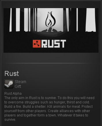 Rust  (Steam Gift / Region Free / ROW / WorldWide)