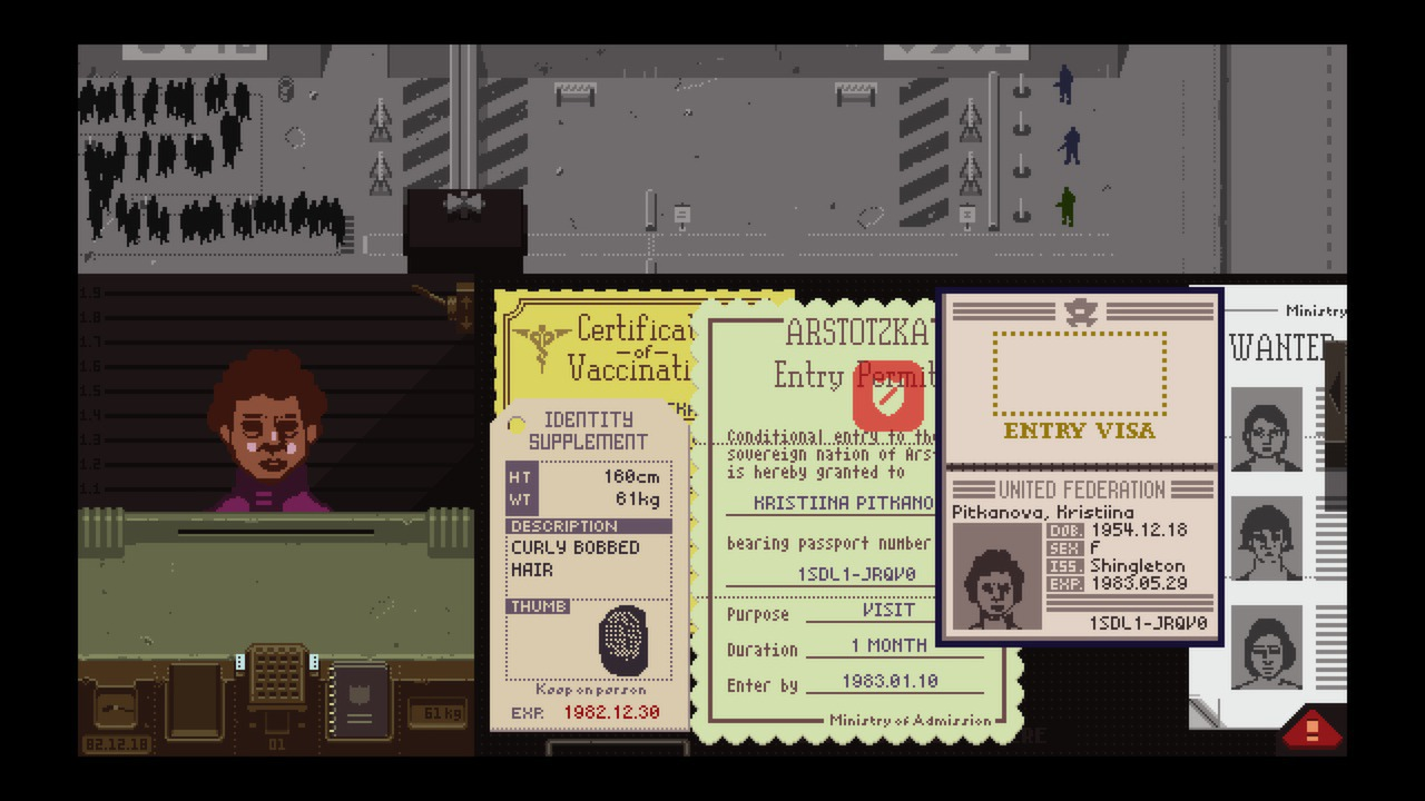 Papers, Please (Steam gift / ROW / Region free)