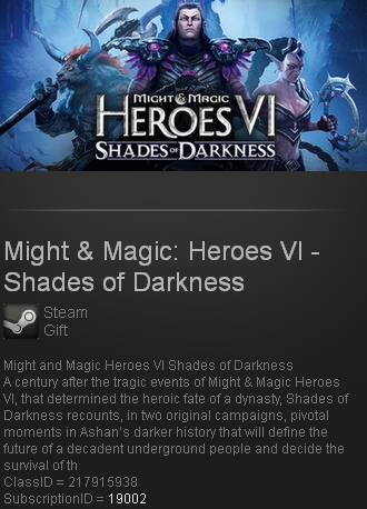 Might & Magic: Heroes VI -Shades of Darkness Steam gift