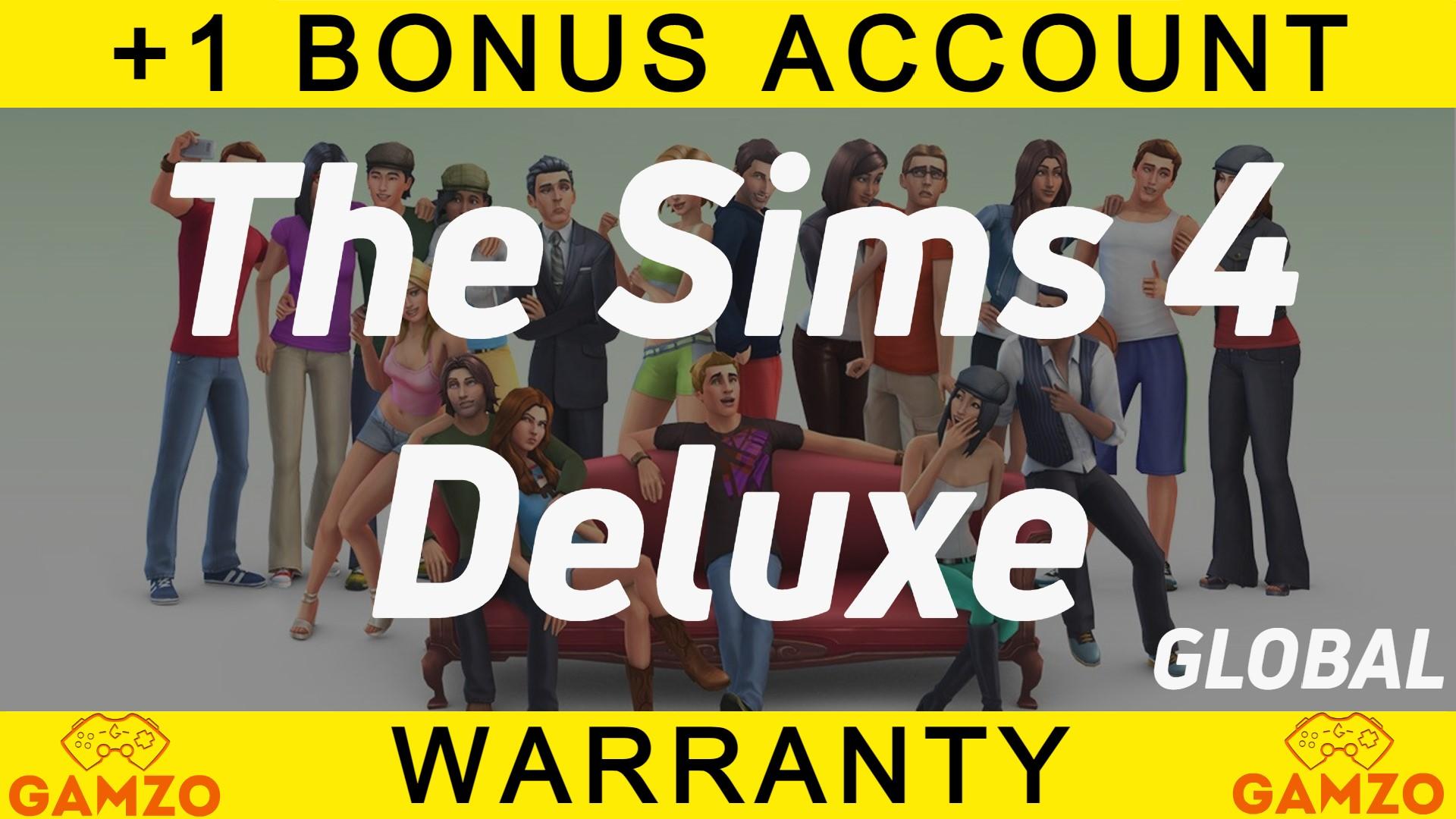 Фотография 🔥the sims 4 deluxe | гарантия 5 лет | подарок🔥