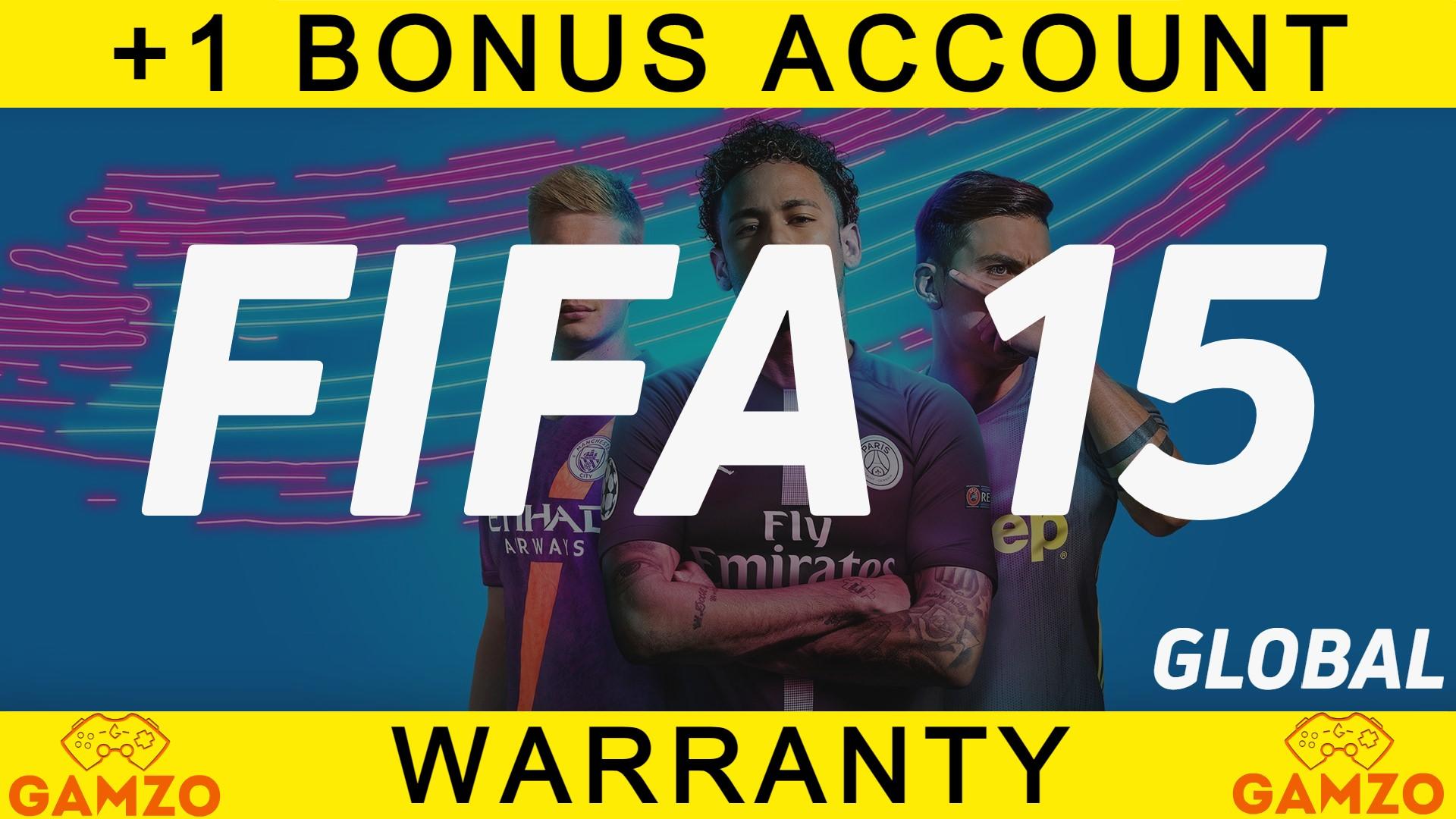FIFA 15   ГАРАНТИЯ 5 ЛЕТ   ПОДАРОК