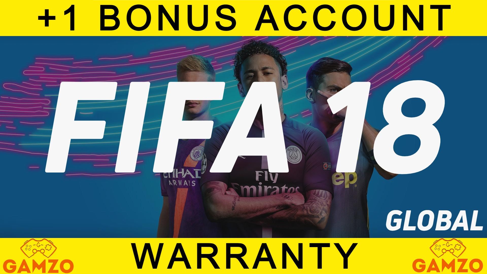 FIFA 18   ГАРАНТИЯ 5 ЛЕТ   ПОДАРОК