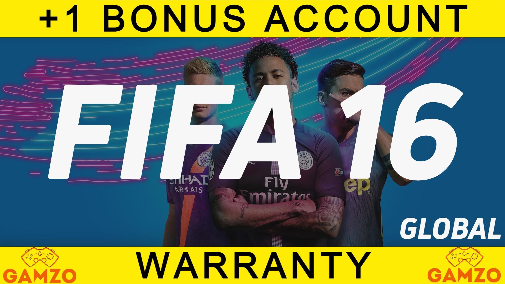 FIFA 16    ГАРАНТИЯ5ЛЕТ  ПОДАРОК