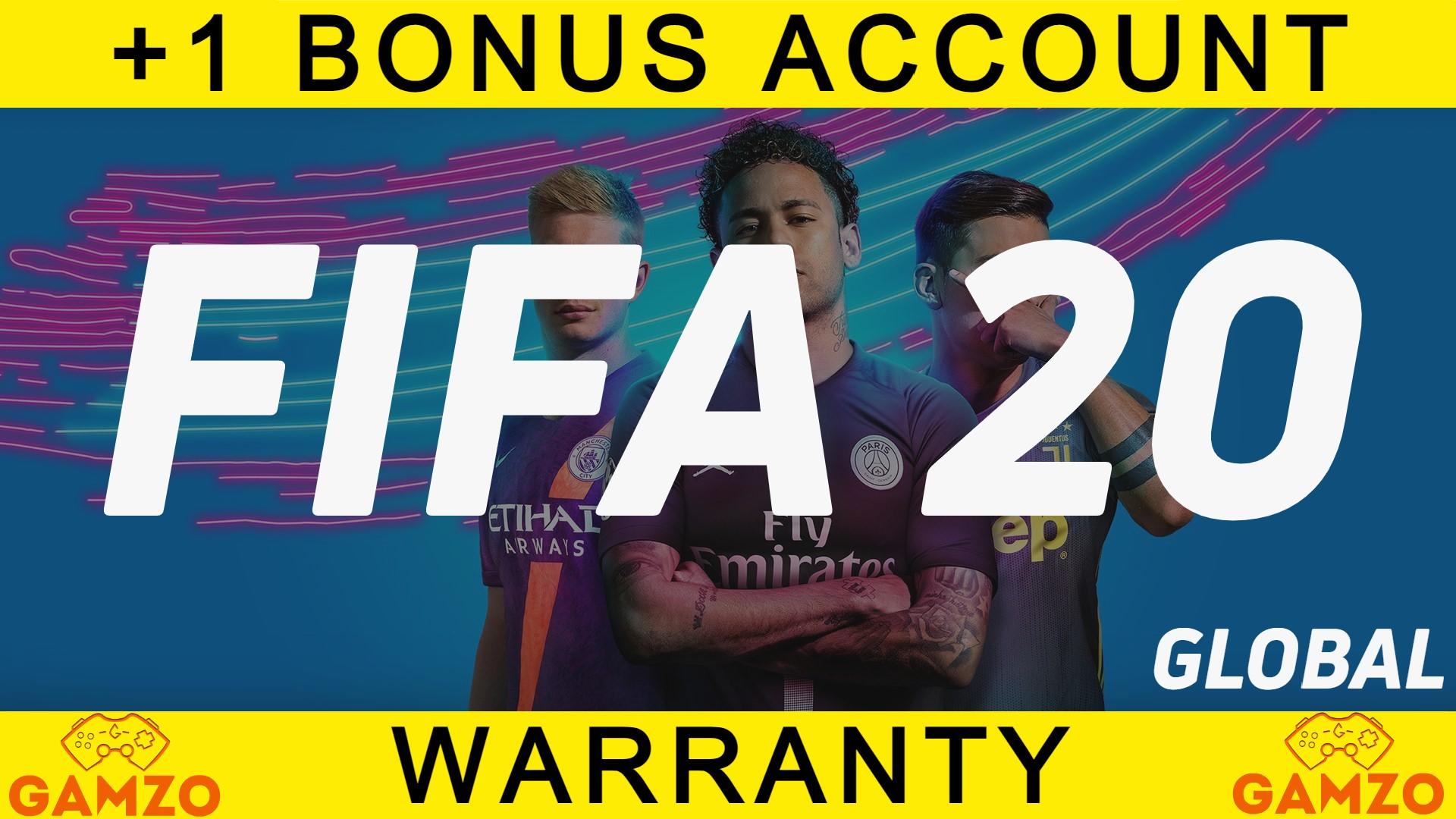 FIFA 20   ГАРАНТИЯ 5 ЛЕТ   ПОДАРОК