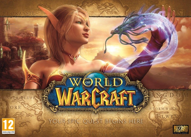 WORLD OF WARCRAFT Battlechest CD-KEY +30 (RU)