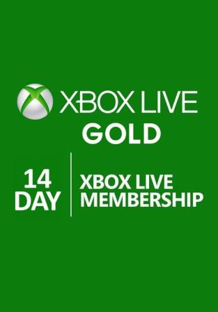 XBOX LIVE GOLD 14 DAYS  XBOX ONE RU/EU/US SCAN