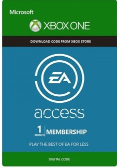 EA Access 1 month XBOX ONE (SCAN)