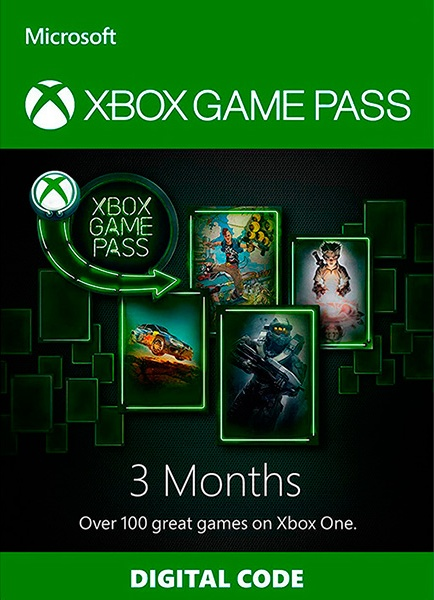Xbox Game Pass 3 Months XBOX ONE/WINDOWS 10  extension 2019