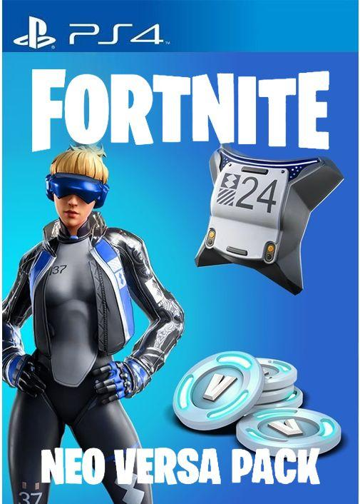 Fortnite skin Neo Versa + 2000 V-Bucks ps4 EU/RU