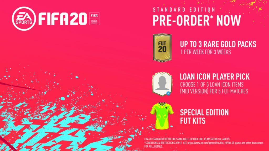 FIFA 20 add-on (XBOX ONE) free region
