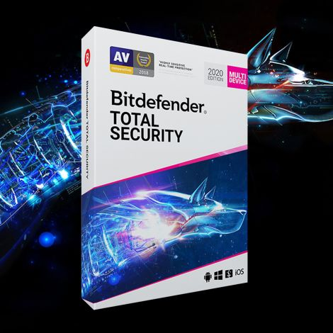 Bitdefender Total Security 2021 180 DAYS 5 devices