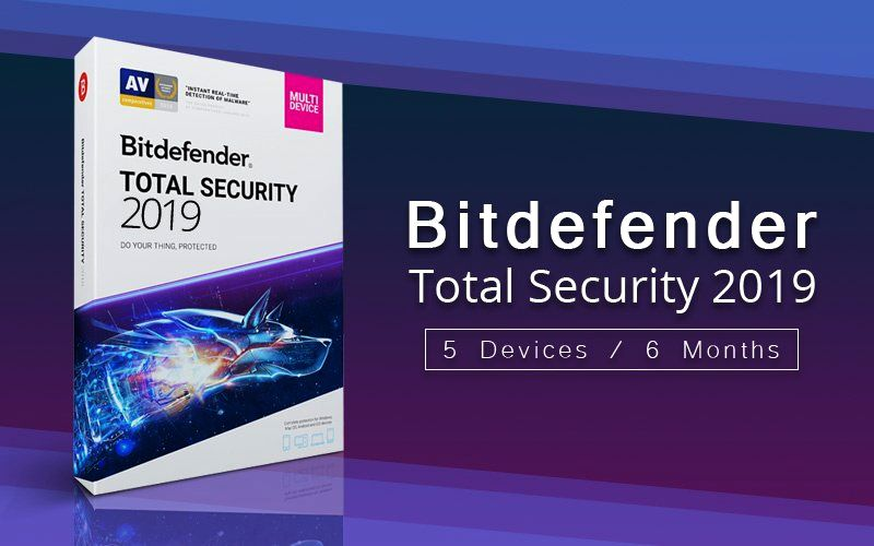 Bitdefender Total Security subion until 20 Sep 20