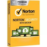 Norton Security Premium 3 месяца 10 ПК