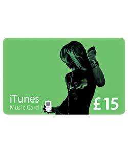 iTunes GIFT CARD 15 £ (pound) (accounts for the UK)
