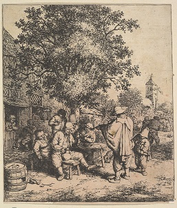 Stories about engravings Adrian van Ostade