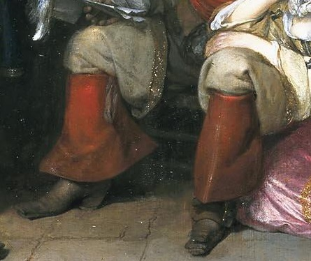 Household items in the paintings of Gerard ter Borch