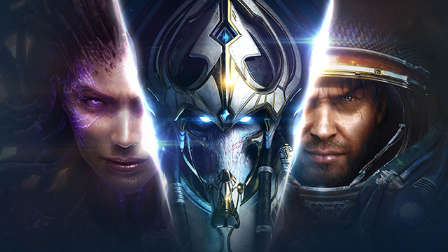 Комплект StarCraft 2 WoL + HotS + LotV Battle chest
