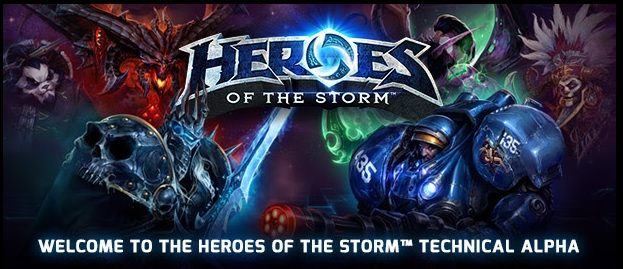 Heroes of the Storm Beta EU / RU Account