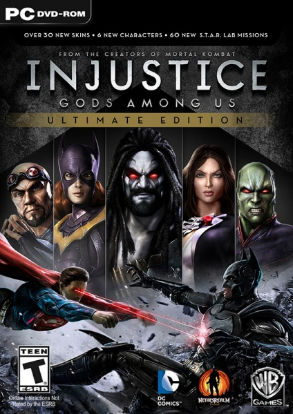 Injustice: Gods Among Us Ultimate Edition (Steam)RU+CIS