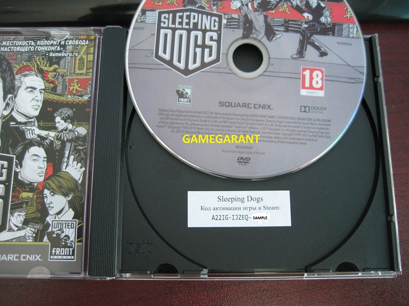 а Sleeping Dogs - CD-KEY - Steam FOTO + Region free