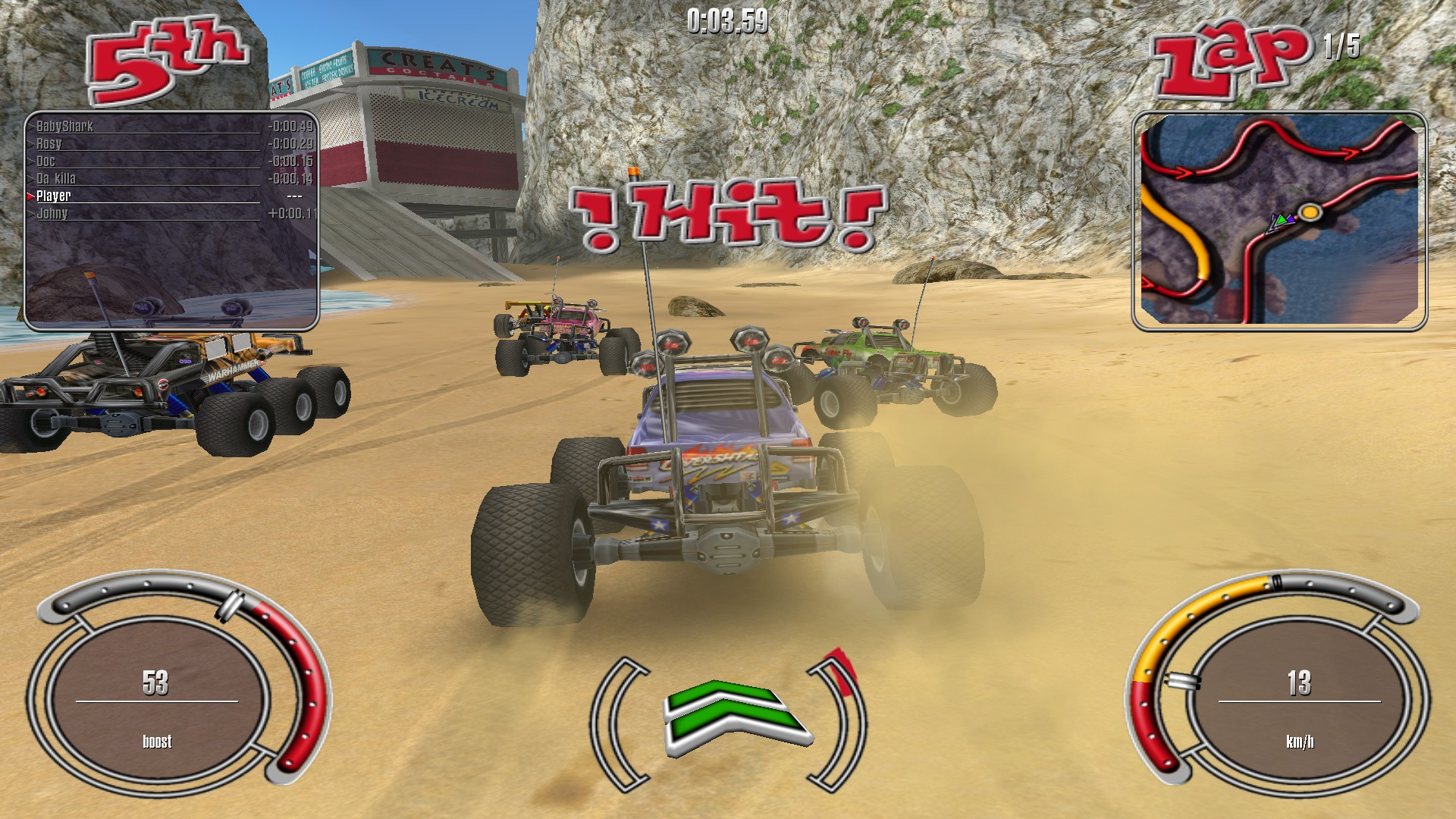 RC Cars ( steam key region free ) Недетские гонки