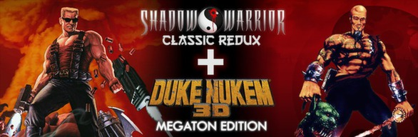 Duke Nukem 3D and Shadow Warrior Bundle (Steam, RU+CIS)