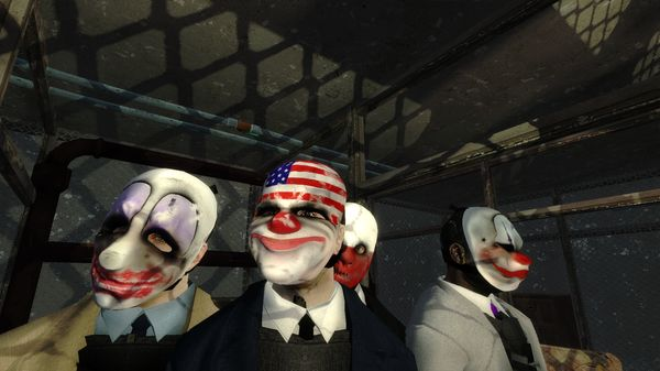 Payday: The Heist (Steam, RU+CIS)