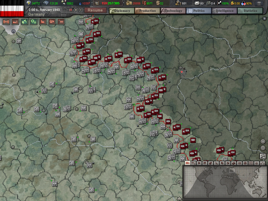 Hearts of Iron III (Steam Key, Region Free)